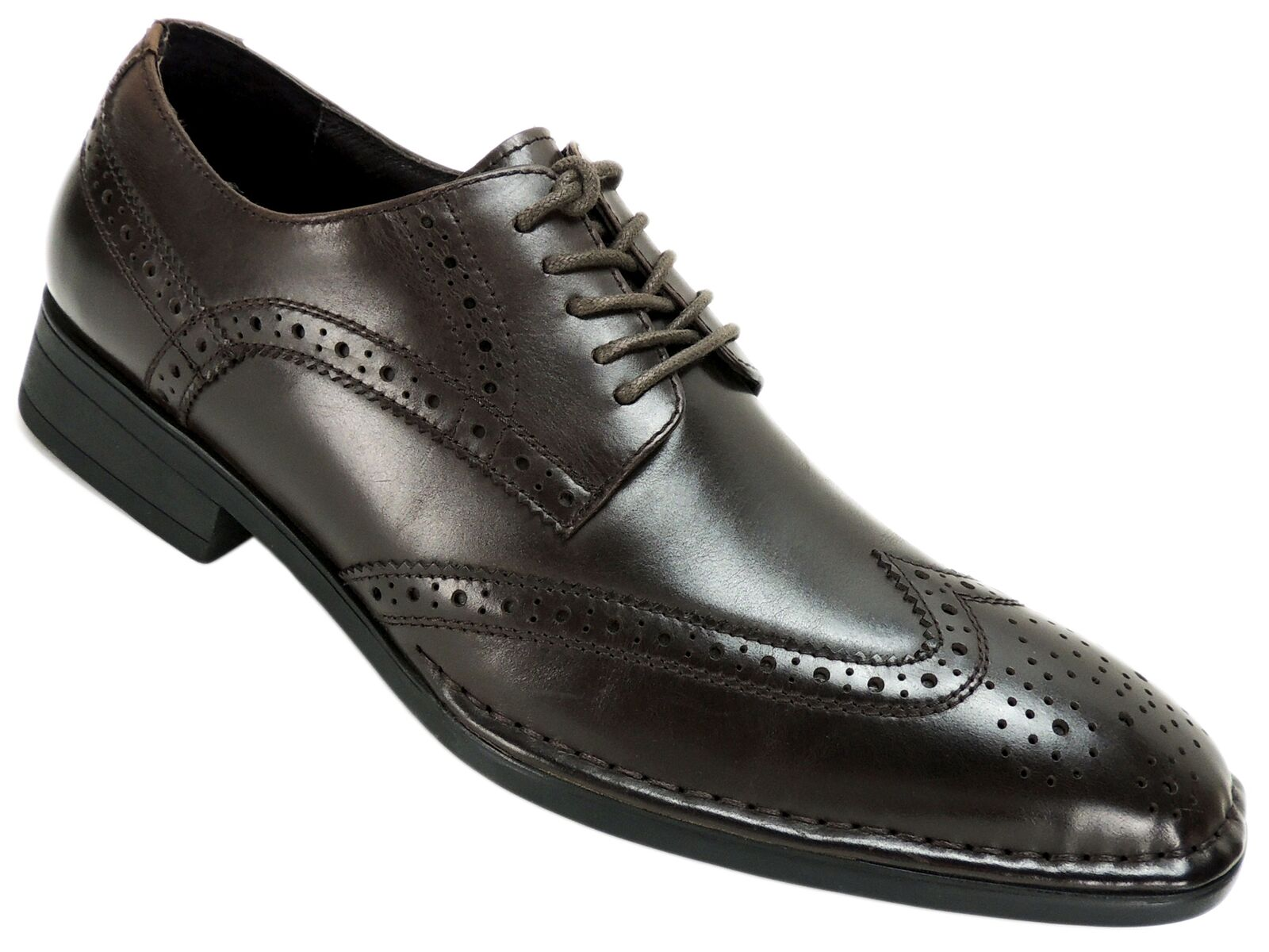 Kenneth Cole Oxfords New York Hombre segunda naturaleza Oxfords Cole DK Marrón Cuero M d197c0
