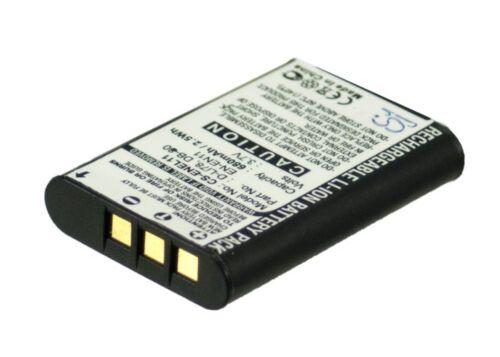 Nueva Batería Para Pentax Optio M50 Optio S1 Optio V20 D-li78 Li-ion Reino Unido Stock
