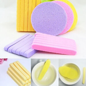 12pcs-Compressed-Facial-Cleaning-Wash-Puff-Sponge-Stick-Face-Cleansing-Pad