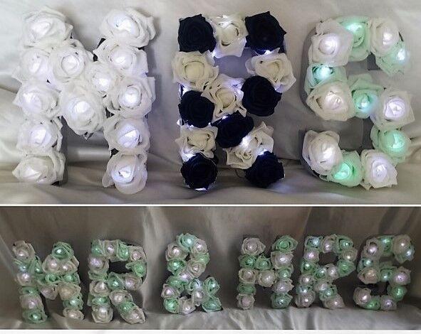 Top table arrangeHommes t, t, arrangeHommes pièce maîtresse mr & mrs rose avec option lumières led 51bb44