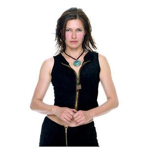 The L Word Karina Lombard as Marina in Black Zippered Top ...