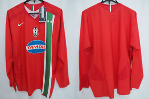 lower price with 0a59f 40cfc Details about 2005-2006 Juventus Juve Jersey Shirt Maglia Third Red TAMOIL  Nike L/S XL BNWT