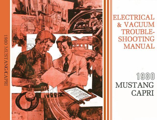 1980 Ford Mustang Mercury Capri Wiring  U0026 Vacuum Diagram