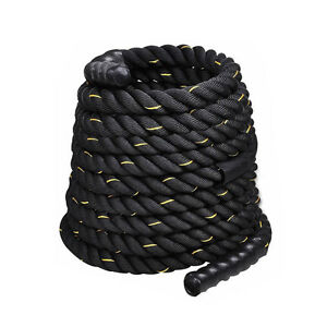 1-5-034-Poly-Dacron-40-ft-Battle-Rope-Exercise-Workout-Strength-Training-Undulation