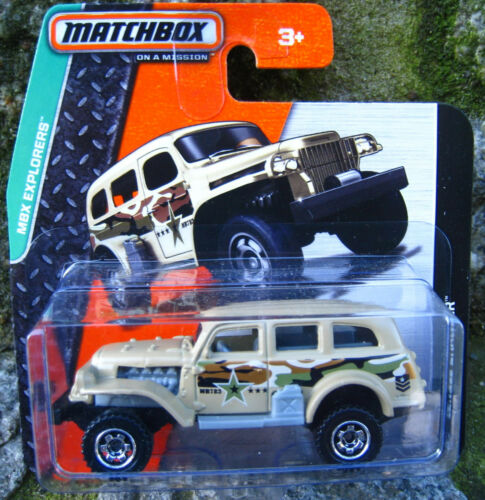 Jungle Crawler  Matchbox 59//120  1:64  OVP  NEU