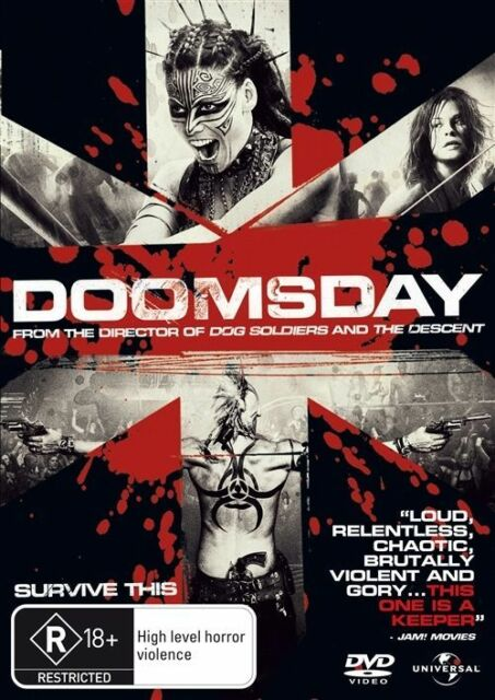 Doomsday (DVD, 2008) Survive This - Free Post!