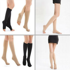 818dd2548 Image is loading 23-32mmHg-MEDICAL-GRADE-SUPPORT-STOCKINGS-CALF-COMPRESSION-