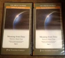 Teaching  Company Meaning from Data : Statistics Made Clear DVD