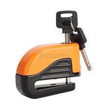 Orange Motorcycle Bike Brake Disc Lock Security Alarm Fit For Honda Harley BMW