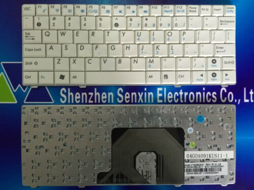 """New US version Keyboard for 8.9 /"""" ASUS Eee PC 900 900HA 900HD 900A 900SD white"""