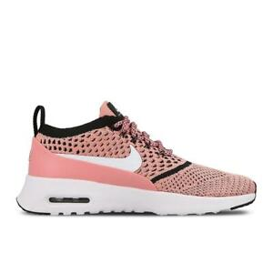 Details about Womens NIKE AIR MAX THEA ULTRA FK Bright Melon Trainers 881175 800