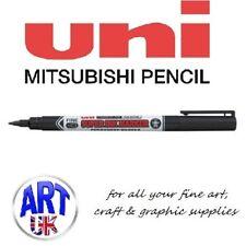 Uni Ball Black Super Ink Marker Pen Glass Metal Cd Laundry Fine Line Permanent