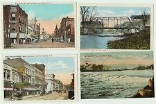 POSTCARD Lot of 6  --- Elmira NY - Originals  ca 1910 -  NOS -  MINT -