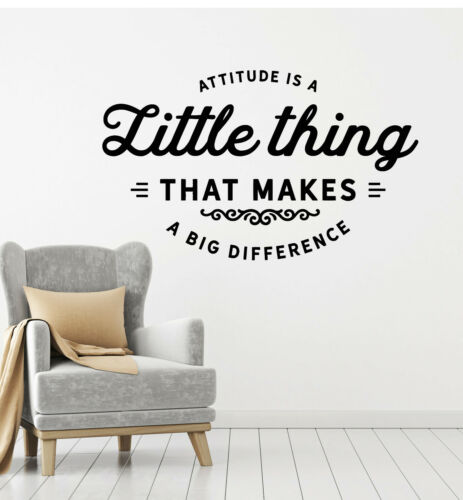 Vinyl Wall Decal Attitude Quote Inspirational Relation Stance Stickers g829