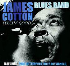 JAMES COTTON (HARMONICA) - FEELIN' GOOD [ACROBAT/HEPCAT] NEW CD
