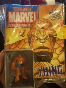 classic-marvel-figurine-collection-the-thing-comic-and-figure-hand-painted