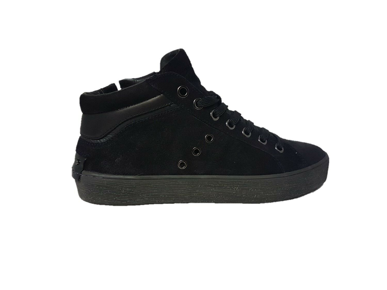 Crime London sneaker uomo alcatraz 11222aa1.40 nero n°43