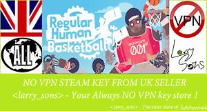 BASKET umano normale chiave a vapore REGIONE GRATIS UK venditore PC