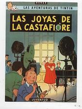 Image publicitaire Tintin. Las Joyas de La Castafiore. Juventud;