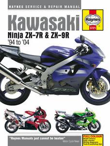 KAWASAKI-NINJA-zx-7r-amp-zx-9r-ZX750-ZX900-1994-2004-Haynes-Manual-3721-NUEVO