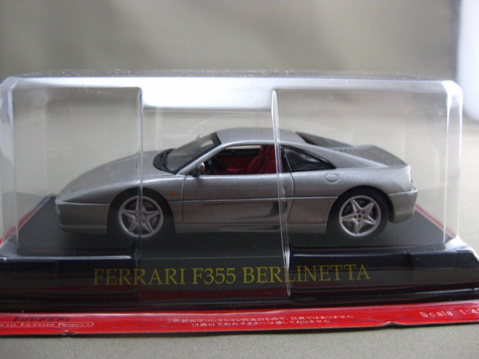 tienda hace compras y ventas Ferrari F 355 355 355 Berlinetta Hachette 1 43 Diecast Coche Vol.25  mejor calidad