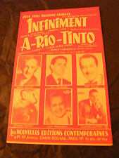Partition Infiniment Luis Machaco A Rio Tinto Colombo Aliprandi 1961