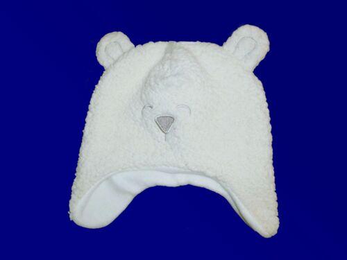 Baby niño pequeño gorro gorra Teddy gorra de invierno peluche gorra one size nuevo favorable
