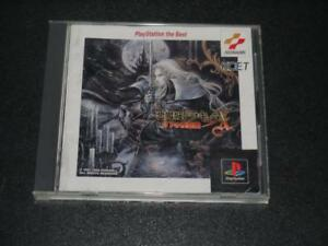 PS-PlayStation-PS1-video-game-CASTLEVANIA-Akumajo-Dracula-X-from-Japan-F-S-used