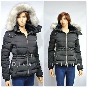 Zara-Black-Hooded-Down-Puffer-Coat-Water-resistant-AW19-RRP-99-NEW