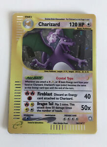 Pokemon-Card-Crystal-Charizard-Shiney-Shiny-Wizard-Rare-Custom-New-Secret-Us