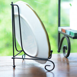 Pop Iron Easel Rack Bowl Plate Art Photo Picture Frame Holder Book Display Stand