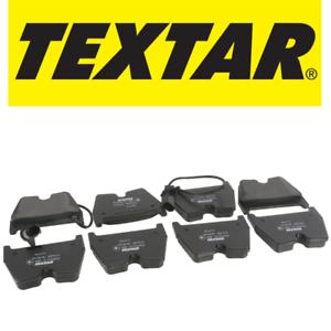 For Audi RS6 Turbo 03-04 Front Brake Pad Set w// 2 Wear Sensors /& Shims Textar