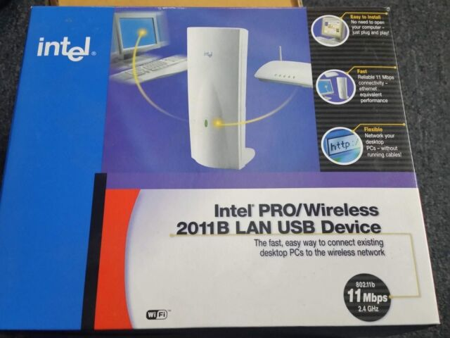INTEL PRO WIRELESS 2011B LAN USB DEVICE DRIVERS FOR WINDOWS 10