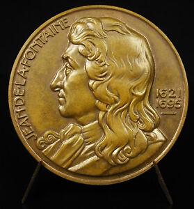 Medal-Fable-Jean-de-La-Fountain-I-Ply-but-not-Breaks-not-le-oak-le-Reed