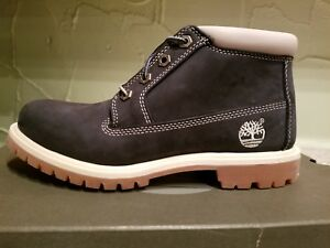 NEW TIMBERLAND WOMEN S NELLIE CHUKKA DOUBLE SOLE NAVY WATERPROOF ... f1ffa6a10f