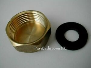 Washing Machine 3 4 Quot Inch Brass Blanking End Cap Nut Cover