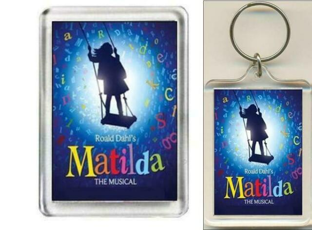 Matilda. The Musical. Fridge Magnet & Keyring.