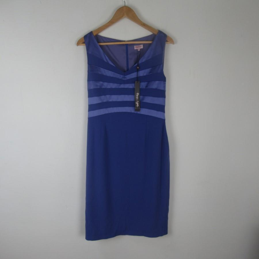 Stylish Phase Eight Sleeveless Cornflower Calleigh Dress RRP  - BNWT