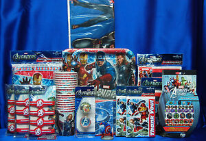 Image is loading Avengers-Party-Set-21-Avengers-Party-Supplies-Tablecovers : avengers table and chair set - pezcame.com