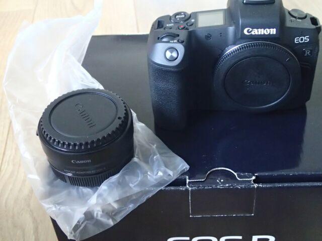 NEU Canon EOS R 30.3 MP Digitalkamera incl. Zubehörpaket mit Garantie