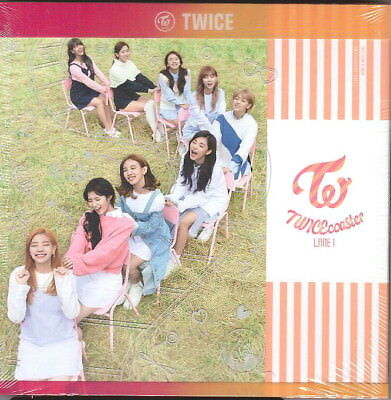 Twice Twicecoaster Lane 1 Apricot Ver Cd Booklet Photocard