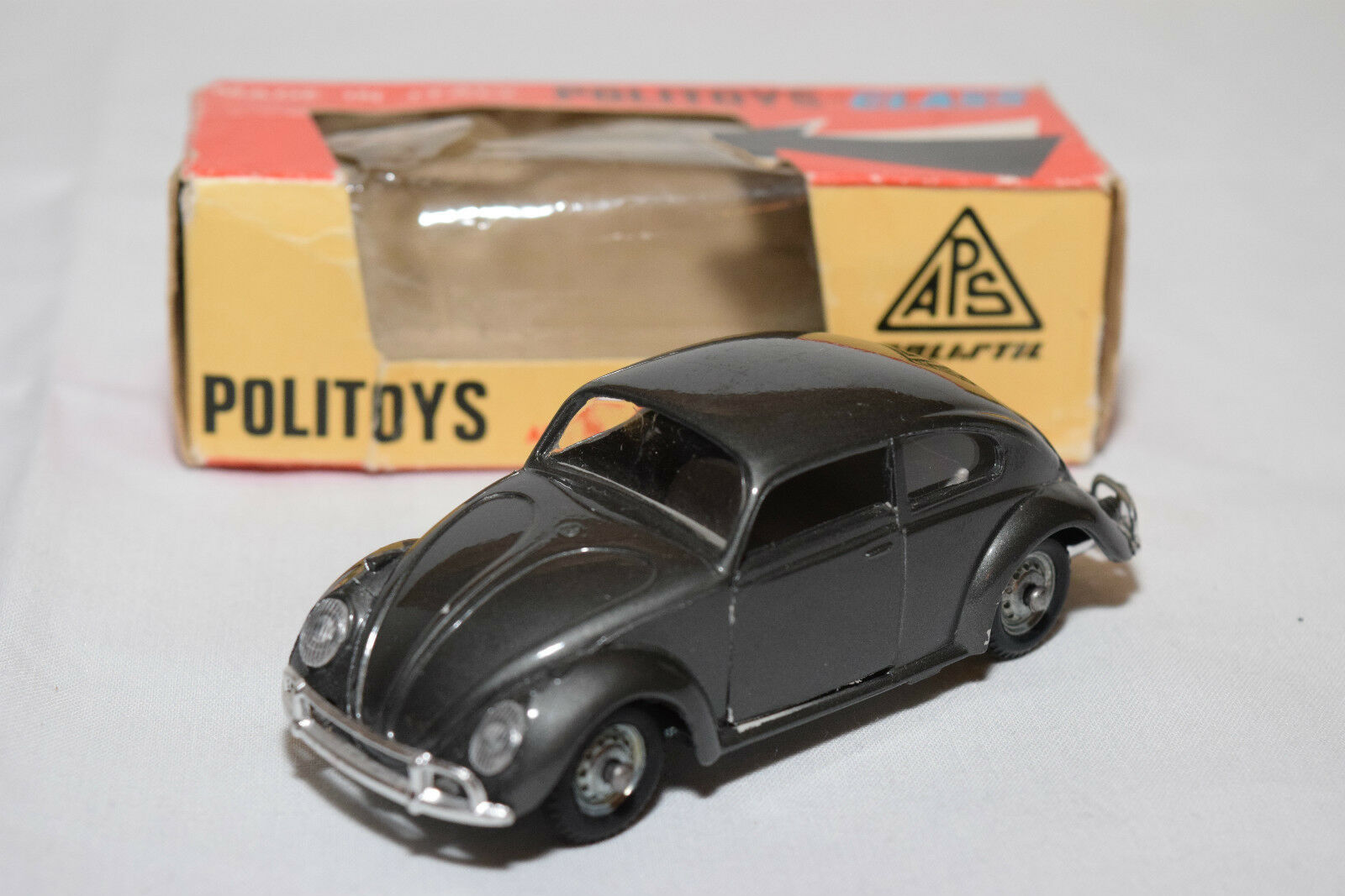 POLITOYS FIBREGLASS N84 N 84 84 84 N.84 VW VOLKSWAGEN 1200 BEETLE KAFER N MINT BOXED eb9b48