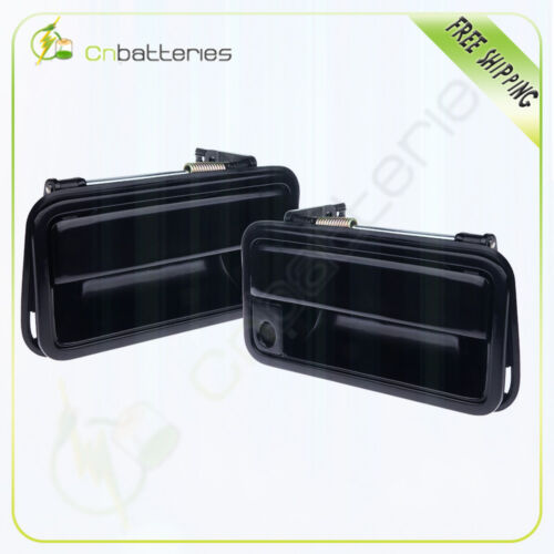 Front Outside Door Handle Left/&Right Side Pair Set for 88-94 GM Pickup Truck SUV