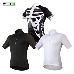 Mens-Cycling-Jersey-Breathable-Short-Sleeve-Shirt-MTB-Bike-Hiking-Sports-Tops