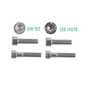 Zylinderschrauben Kreuz Torx M1,6 M2 M2,5 M3 Linsenschrauben Senkkopfschrauben