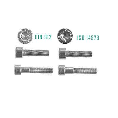 Zylinderschrauben Torx Schrauben Schwarz 12.9 Stahl M5 M6 M8 M10