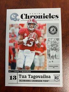 2020 Chronicles Tua Tagovailoa RC Alabama / Dolphins Base Rookie Card #24