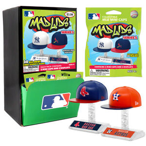 c310d5a8f91cc MLB Teenymates Mad Lids Series 2 Gravity Fill Box of 24 Unopened ...