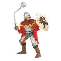 Papo Officer With Mace Red Knight Soldier Fantasy Toy Figure Castle 39254