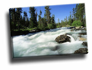 Redfish Creek Idaho Giclee Canvas Wall Art Picture